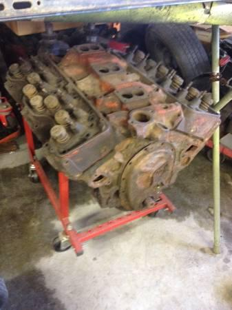 348 Chevrolet Engine Tri Power Manifold And Forged Steel Cranks 1500