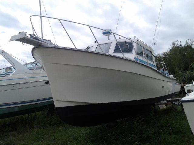 35 39 1994 henriques custom diesel lobster boat for sale in for Brooklyn fishing boat