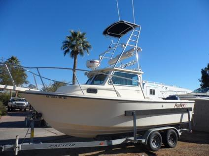 $35,900 OBO, 2006 Parker 2120 Sport Cabin , 200hp Yamaha, Tuna Tower,  Trailer,1 Owner Low Hrs