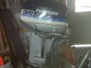 35 hp Evinrude - $350 (jenkins)