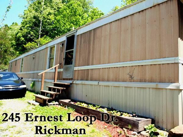 2br 2 bedroom mobile home in rickman for rent in algood tennessee