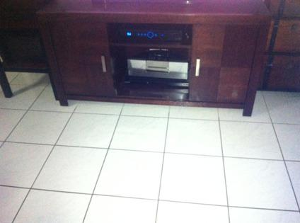 $350 OBO Brown couch and TV console