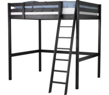 obo ikea stor loft bed frame and full ikea mattress for sale in chesapeake beach maryland. Black Bedroom Furniture Sets. Home Design Ideas