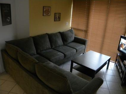 $350 OBO Microfiber Sectional Couch- Seats6