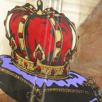 $350 OBO Vintage  Antique  Crown Royal  Liquor Bar Mirror