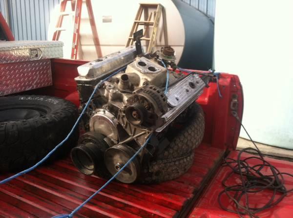 350 small block engine needs rebuilt - $250