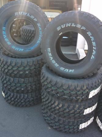35125015 Dunlop Radial Mud Rovers Made In The U.S.A