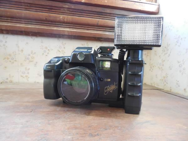 35mm BIG ROYAL VIEW MILLENIUM 2000 CAMERA WITH CASE -