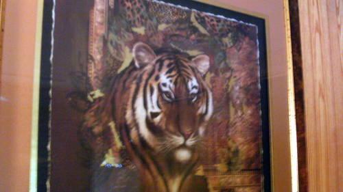 """Home Interior Tiger Picture: 36"""" X 36"""" Home Interior Safari Tiger Print For Sale In"""
