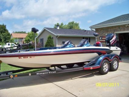 $37,000, 2007 Ranger Z21 VX w/2008 Evinrude E-TEC 250 H O
