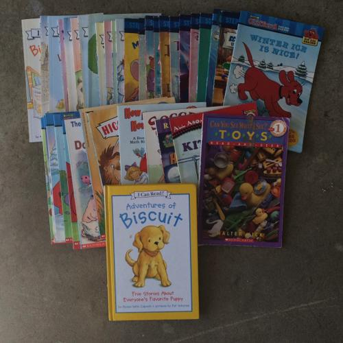 37 early reader books and 1 with 5 stories.