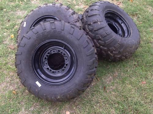 37 inch Mud Tires Goodyear MT Military Humvee Pull-Offs