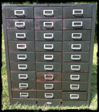 $375 Cole Steel MailRoom/Tool Cabinet