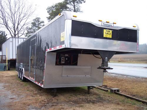 38' Enclosed Car Trailer