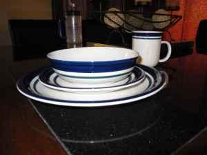 38 piece stone dish set. - $50 (Smithfield)