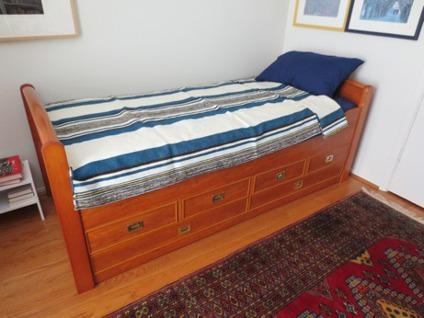 Long Twin Captain S Bed For Sale In San Antonio Texas