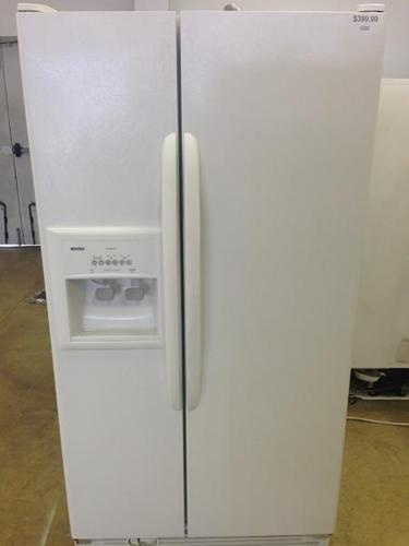 25 Cu Ft White Kenmore Side By Side Refrigerator I220
