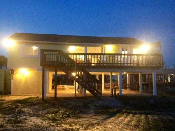 3br - 1000ft² - ABSOLUTE BEACHFRONT RIGHT ON GALVESTON
