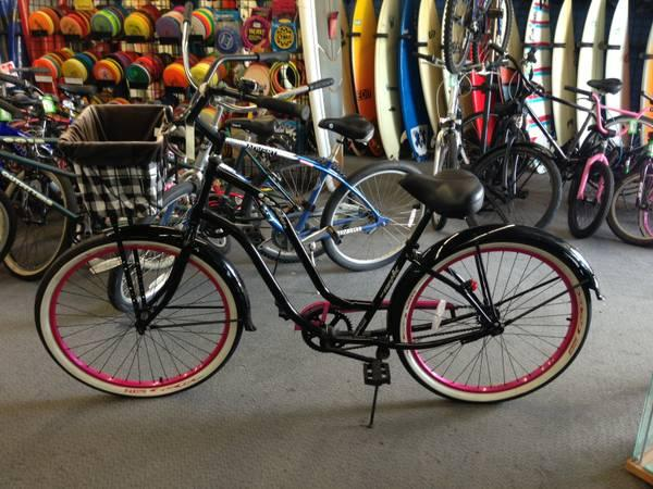 3g Ladies Beach Cruiser Bike With Basket For Sale In Huntington Beach California Classified