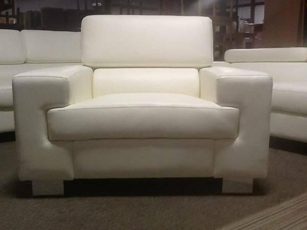 Groovy 3Pc Bone Color Leather Sofa Loveseat Chair Set For Sale Gmtry Best Dining Table And Chair Ideas Images Gmtryco