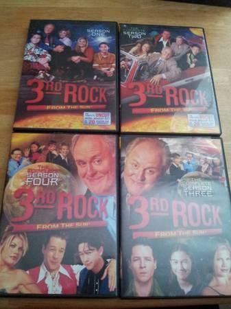 3rd Rock from the sun 4 seasons 1-2-3-4 - $20