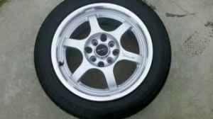 4 - 15 Driftz rims and tires 4X114.3 bolt pattern - $200 Whiteville