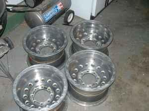 4 16x10 Weld Racing Wheels - $400 (Reno, NV)