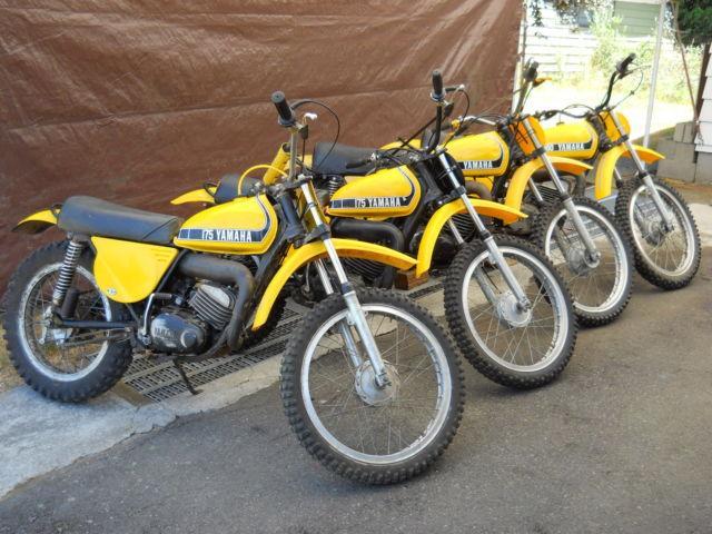 4 - 1974 YAMAHA VINTAGE MXSC MOTOCROSS MOTORCYCLES - $4995 TIGARD