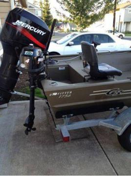 Mercury 50 Hp Jet Outboard Vancouver For Sale In