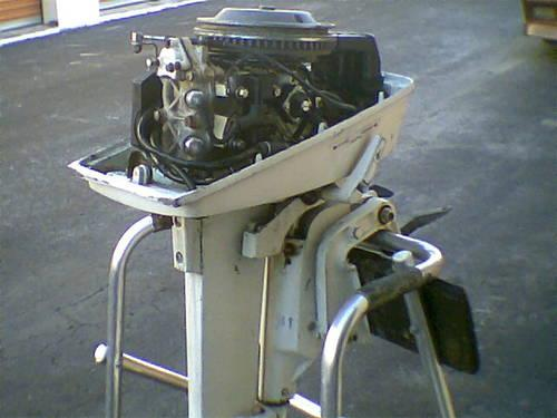 4 5 Hp 7 5 Hp Johnson Evinrude Parts Lower Unit Recoil