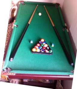 4.5u0027x2.5u0027 Pool Table (everything