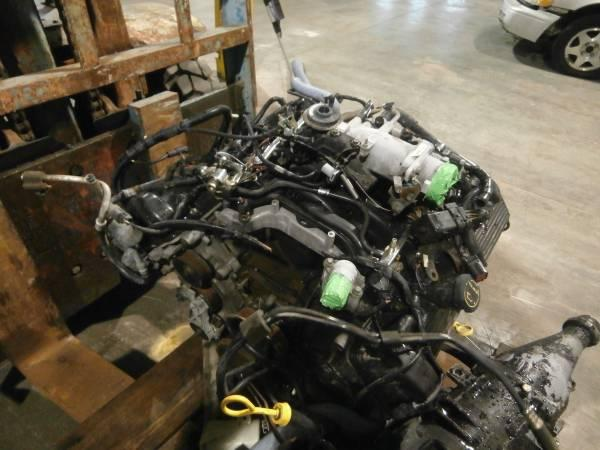 4 6 Ford Engine Transmission From 2002 Crown Victoria