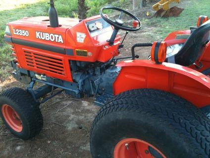 $4,950, 1994 Kubota L2350 25hp 3-Cyl Diesel Tractor with Canopy, 60