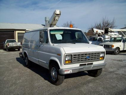 Travel Trailers For Sale In Pa >> OBO Trade-In 1991 Ford E350 Bucket Van with Versalift Boom for Sale in Gettysburg, Pennsylvania ...