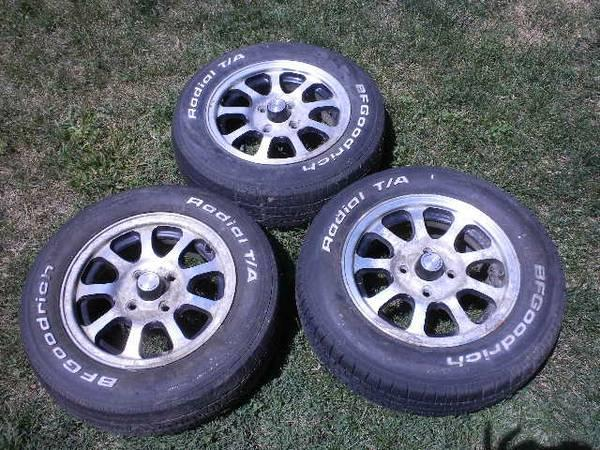 4 American racing wheels to fit VW Rabbit or Rabbit truck - $125