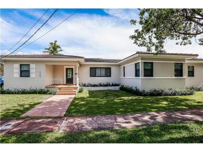 4 bed 3 bath house 4365 n michigan ave for sale in miami for Bath house michigan