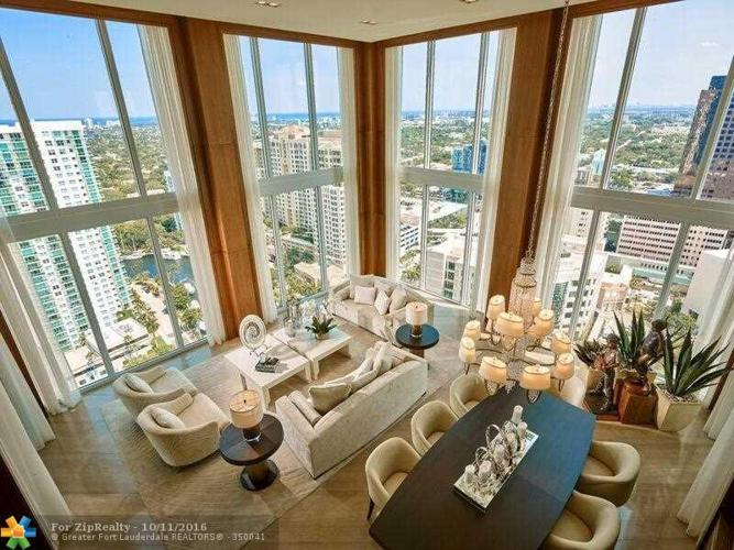 4 Bed 5 Bath Condo 333 LAS OLAS WAY #3210