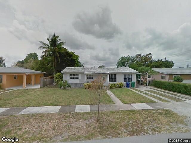 4 Bedroom Bath Single Family Home Miami Gardens Fl