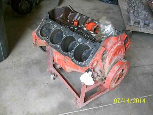 4 Bolt Main Chevy 350 Short Block - $150