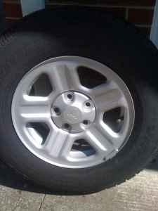 4 Brand New Jeep Wheels And Tires - $450 (Roanoke)