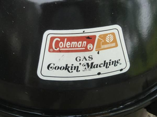 4 Coleman Smoker Grill for camping city or country parking lots too - $40