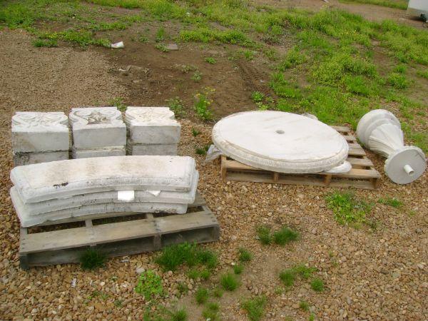 4 Concrete Patio Garden Table Set Jackson For Sale In
