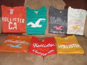 4 GiRLS HOLLiSTER t-SHiRTS SiZE XS - $5 Boiling Springs, SC