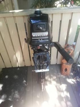 4 hp Mercury Outboard Motor For Sale or Trade