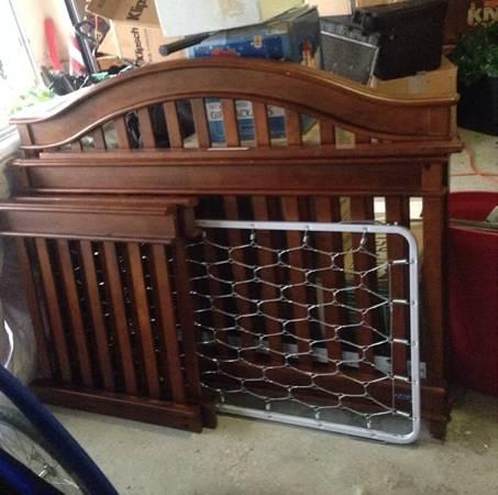 4 in 1 Convertible Crib - $120