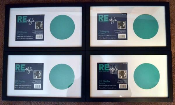 4) Matted CD Display Frames! - for Sale in Wauwatosa, Wisconsin ...
