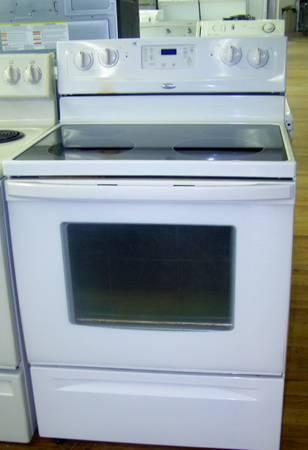 4 Month Warranty Used Whirlpool Off White Stove For Sale