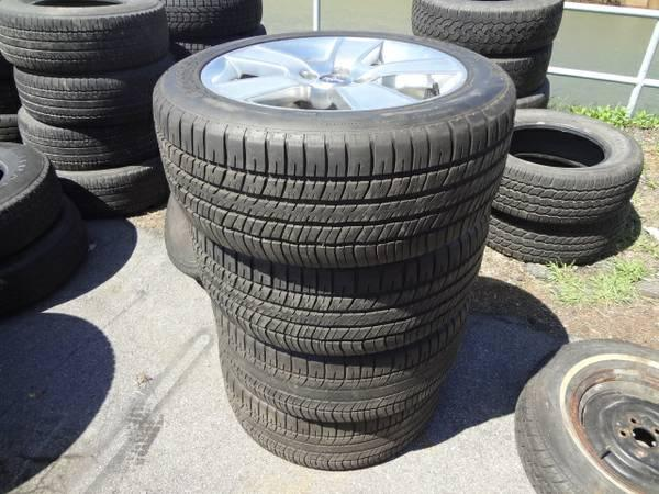 4 Mustang Wheels and Tires - BFGoodrich G-Force T/A 235/50 ZR 18 - $400
