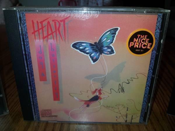 4 Pack of HEART CDs - $20