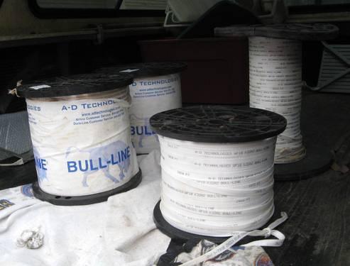 4 Rolls Bull Line Measuring Tape Polyester Pull Mule 5 8